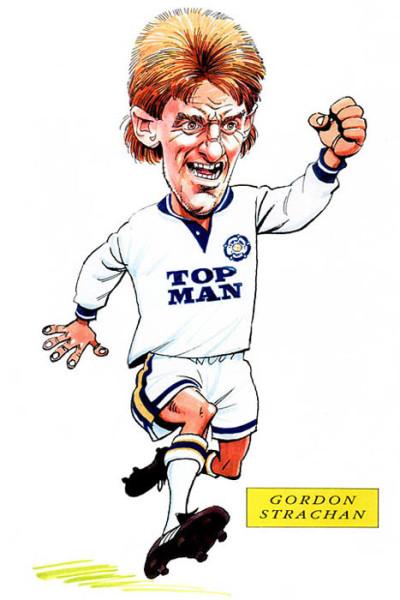Football Caricatures Footballers - Happen
